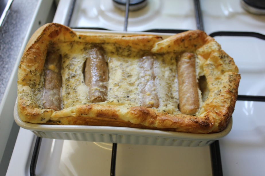Vegetarian Toad in theHole